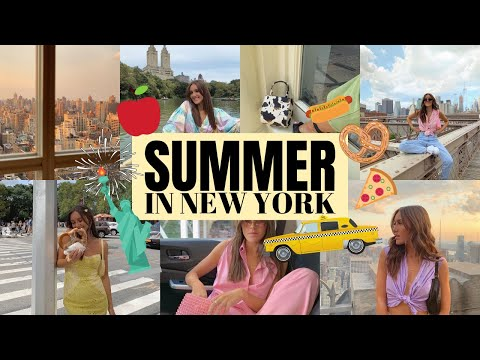 SUMMER IN NEW YORK CITY! | Emma Rose