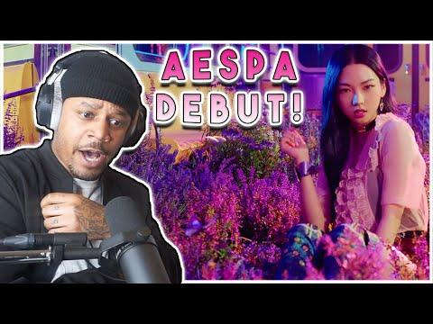 aespa 에스파 'Black Mamba' MV | DEBUT REACTION