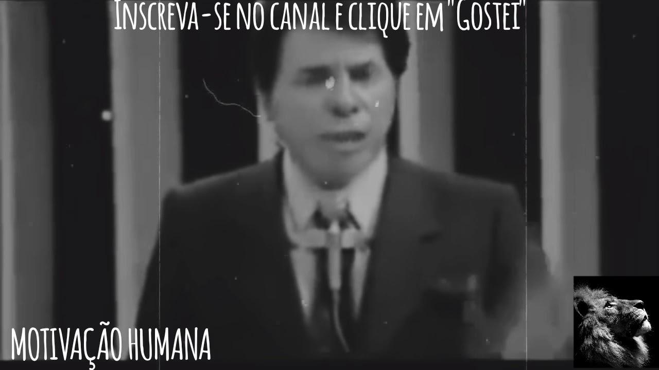 Discurso épico De Silvio Santos Motivacional Youtube