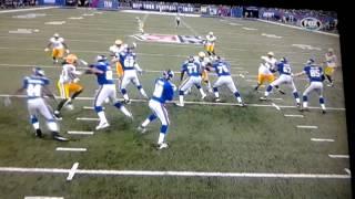 Travis Beckum 67 yd TD against Packers