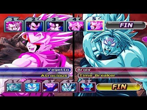 Warrior´s Atrocious VS Warrior´s Time Breaker | Dragon Ball Z Budokai Tenkaichi 3