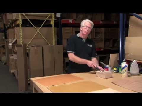 Webisode #6: How-to Apply Wood Veneer to MDF using Contact Cement