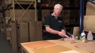 Webisode #6: How-to Apply Wood Veneer To MDF Using Contact Cement