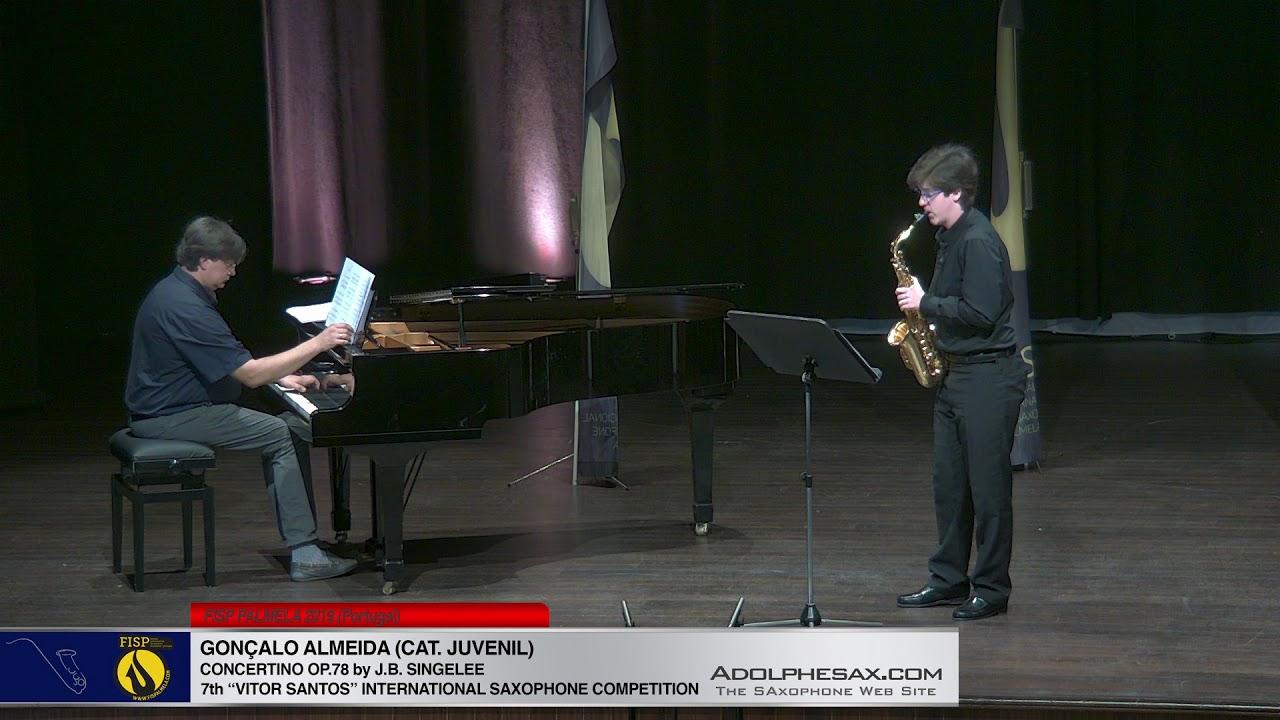 FIS PALMELA 2019 - Gonçalo Almeida - Concertino Op 78 J B  Singelee