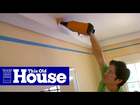 How to Install Three-Piece Crown Molding | This Old House