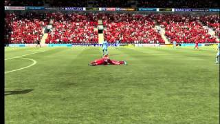 Andy Carroll Kicks Off In Fifa 12