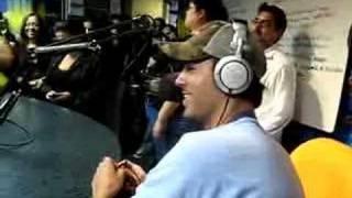 Enrique at KIIS FM in La on Jojo on the Radio Part 1