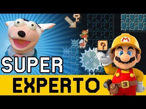 Niveles HERMOSOS y DESCONOCIDOS Aparecen !! - SUPER EXPERTO NO SKIP | Super Mario Maker - ZetaSSJ