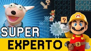 Niveles HERMOSOS y DESCONOCIDOS Aparecen !! - SUPER EXPERTO NO SKIP   Super Mario Maker - ZetaSSJ
