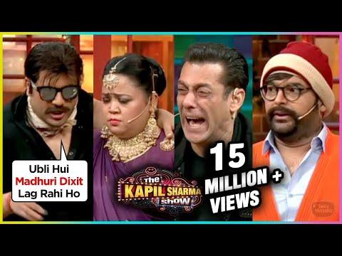 Krushna Abhishek & Bharti Singh FUNNY Comedy With Salman Khan At The Kapil Sharma Show | Dabangg 3