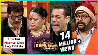 Krushna Abhishek & Bharti Singh FUNNY Comedy With Salman Khan At The Kapil Sharma Show | Dabangg 3