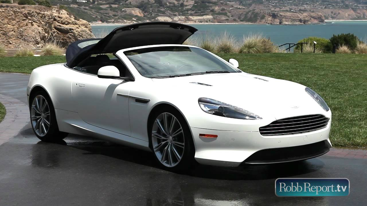 aston martin virage convertible youtube. Black Bedroom Furniture Sets. Home Design Ideas