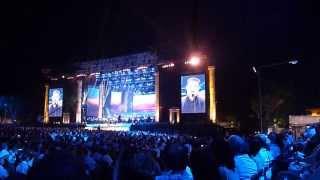 Joseph Calleja, The Maltese Tenor,  Singing 'caruso' 1st August 2013