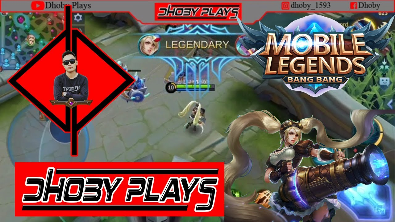 LAYLA GAMEPLAY BY DHOBY MOBILE LEGENDS: BANGBANG