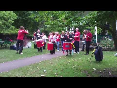Swindon Samba: Bandstand, 21st September 2013