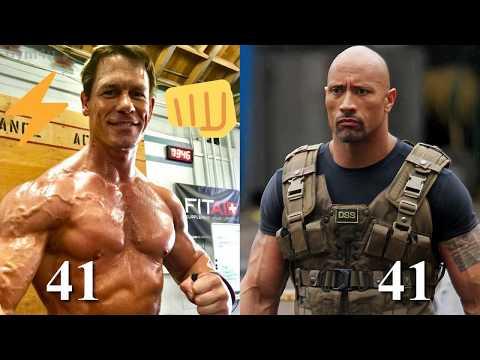 The Rock vs John Cena Transformation ★ 2018 thumbnail