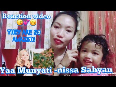Yaa Munyati -Nissa Sabyan Gambus Live Perform Kopti Semanan | Reaction Video