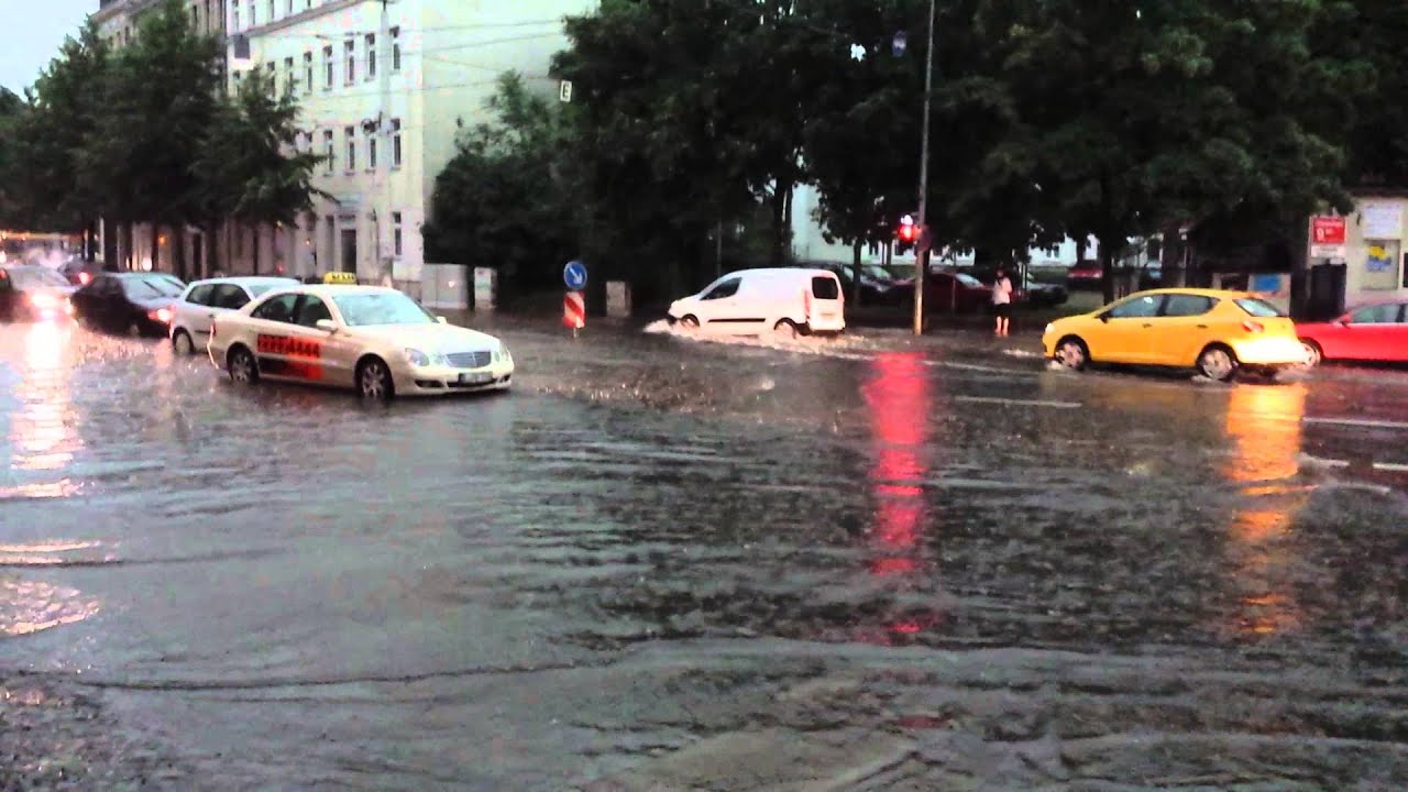 Unwetter Leipzig