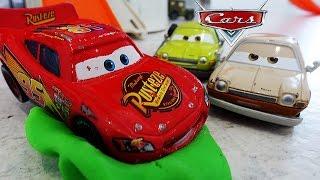 ТАЧКИ. Молния Маквин и Бандиты! Маквин застрял! Мультик про Машинки ТАЧКИ 2 Disney Cars. Игрушки ТВ