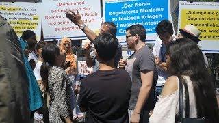 Diskussionen mit Bürgern über Politischen Islam in Mönchengladbach