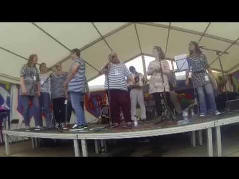 Fishwives Choir At Newlyn Fish Festival 2014