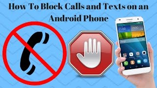 How To Block Calls and Texts on an Android Phone | Mr.Number App Hindi\Urdu