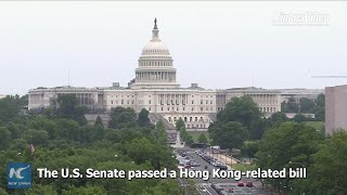 U.S. Hong Kong bill only to further inflame violence