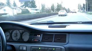 1992 honda civic cx D15B7/A6 test drive