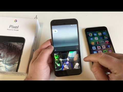 Wechsel von iPhone auf Google Pixel - Einrichtung mit Android 7.1 ausprobiert