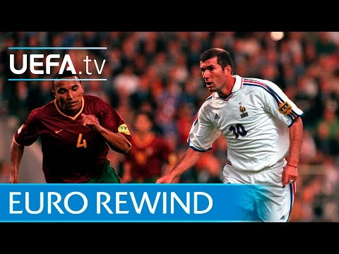 EURO 2000 highlights: France 21 Portugal