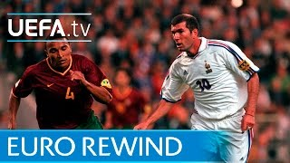 EURO 2000 highlights: France 2-1 Portugal