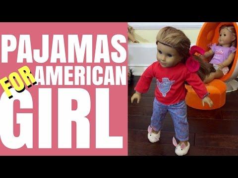 Pajamas For American Girl McKenna