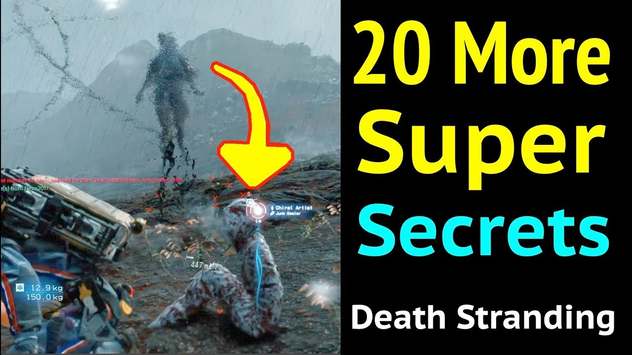 More Super Secrets in Death Stranding thumbnail