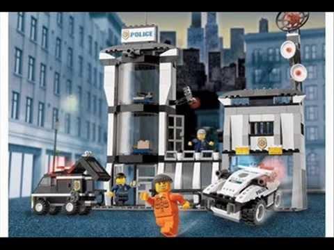 old lego police sets - YouTube