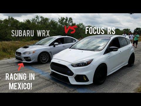 Ford Focus RS vs Subaru WRX vs E39 M5, & Infiniti G37