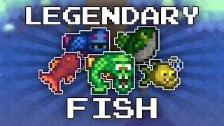 Stardew Valley - Legendary Fish; How to Catch & Locations