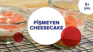 Cheesecake - Greyfurtlu ve de SÜRPRİZLİ! (1+ Yaş)   İki Anne Bir Mutfak