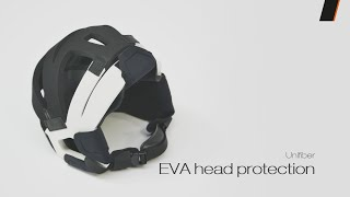 Video: Unifiber EVA Head-Protection Black/White