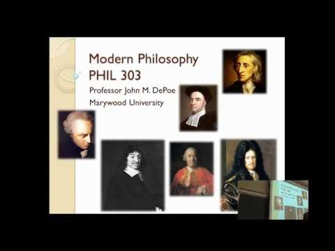 Montaigne and Descartes | History of Philosophy ☆ Lecture