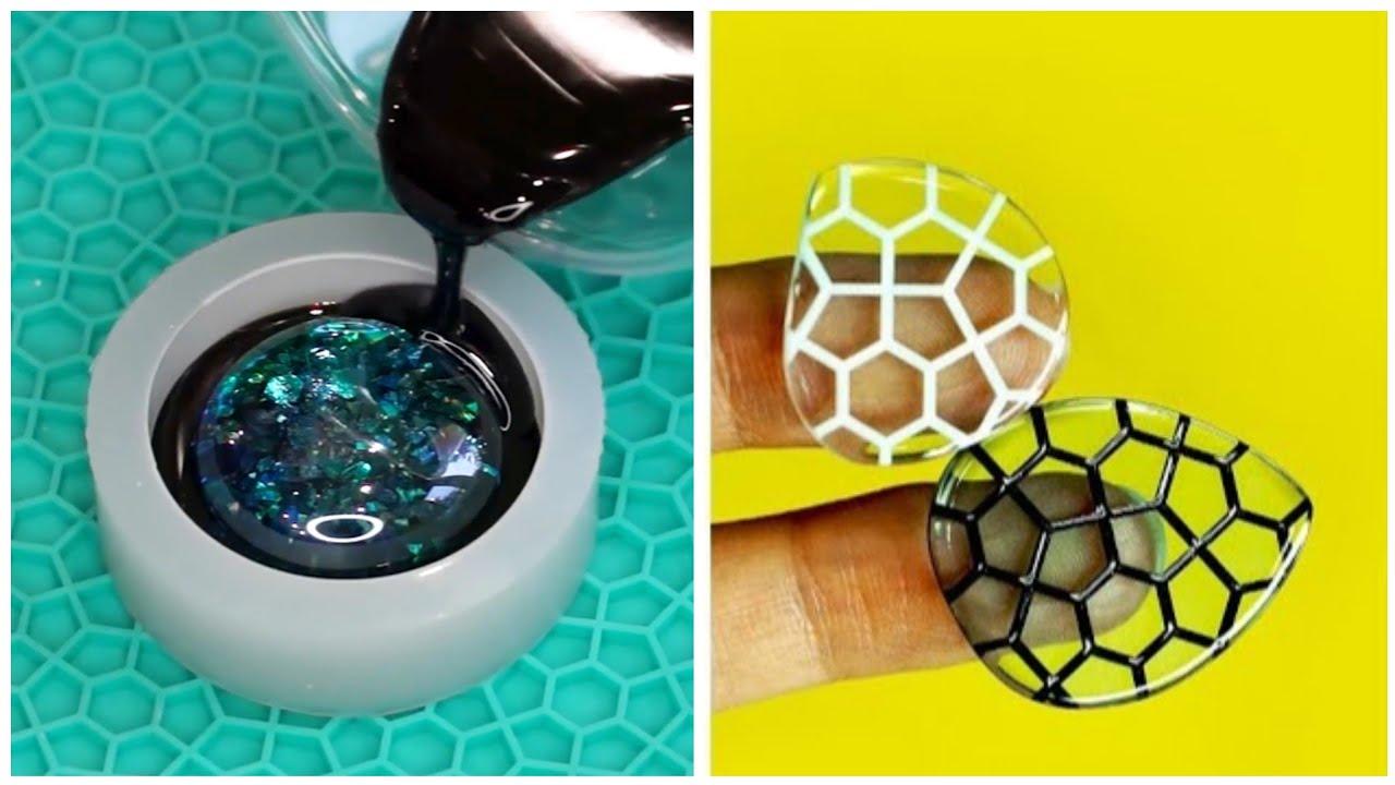 10 Wonderful Epoxy Resin DIYs That Will Amaze You || DIY Jewelry, Home Decor And Mini Crafts