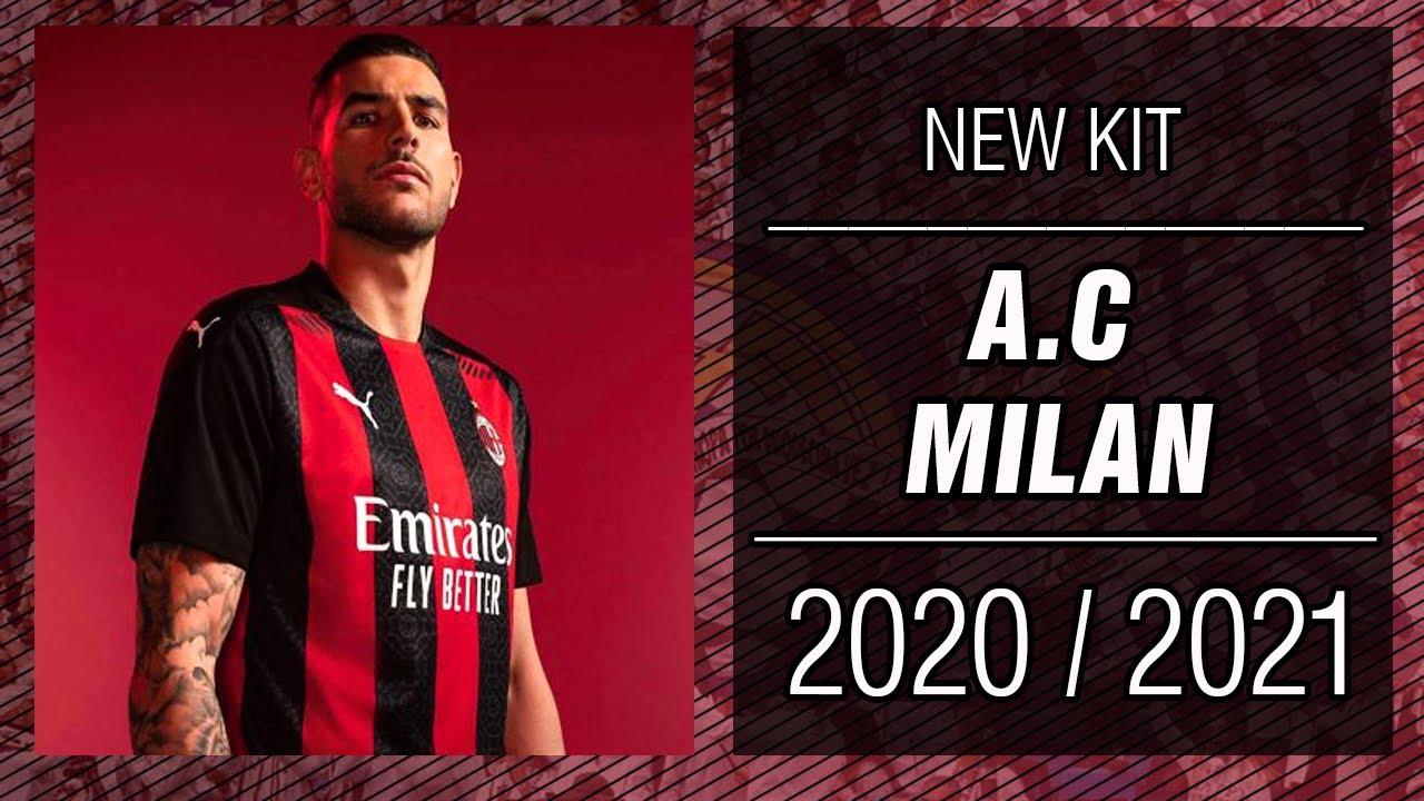 Pes 2013 New Kit A C Milan 2020 2021 Hd Youtube
