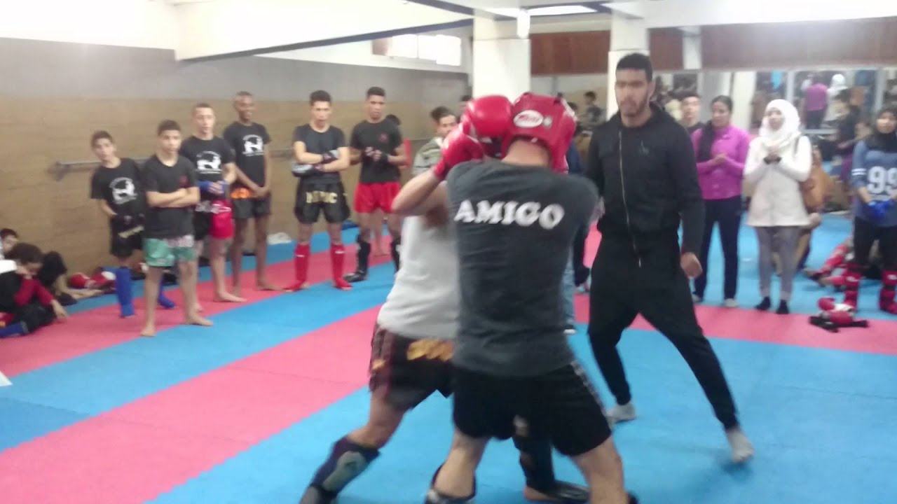 Full Contact Combat Sport >> Combat Full Contact Maroc 2016 74kg Youtube
