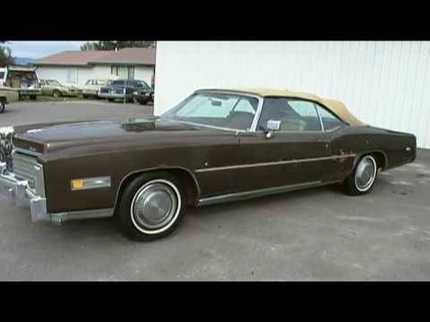 1976 cadillac eldorado convertible drop top. 500 cu motor