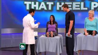 Living with Plantar Fasciitis, The Doctors TV Show