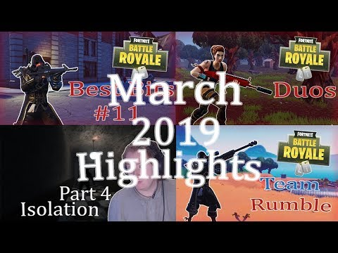 TheShaunShow – Gaming Highlights –  March 2019 Highlights