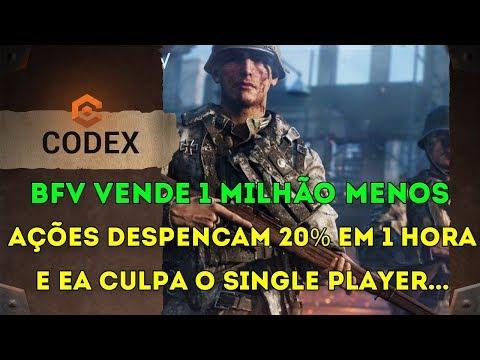 Battlefield V Vende 1 Milhão Menos Que Esperado e Ações Despencam 20% em 1 Hora! thumbnail