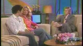 Jessica Simpson And Nick Lachey On Ellen (p.t. 1)
