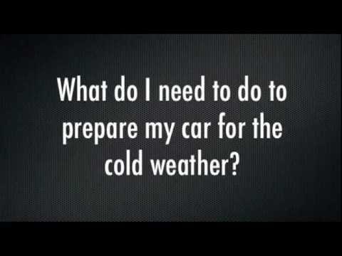 Winter Driving Tips: Winter Weather Checklist