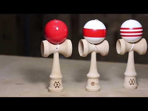 Product Spotlight:  Striped and Solid Color Tribute Kendamas