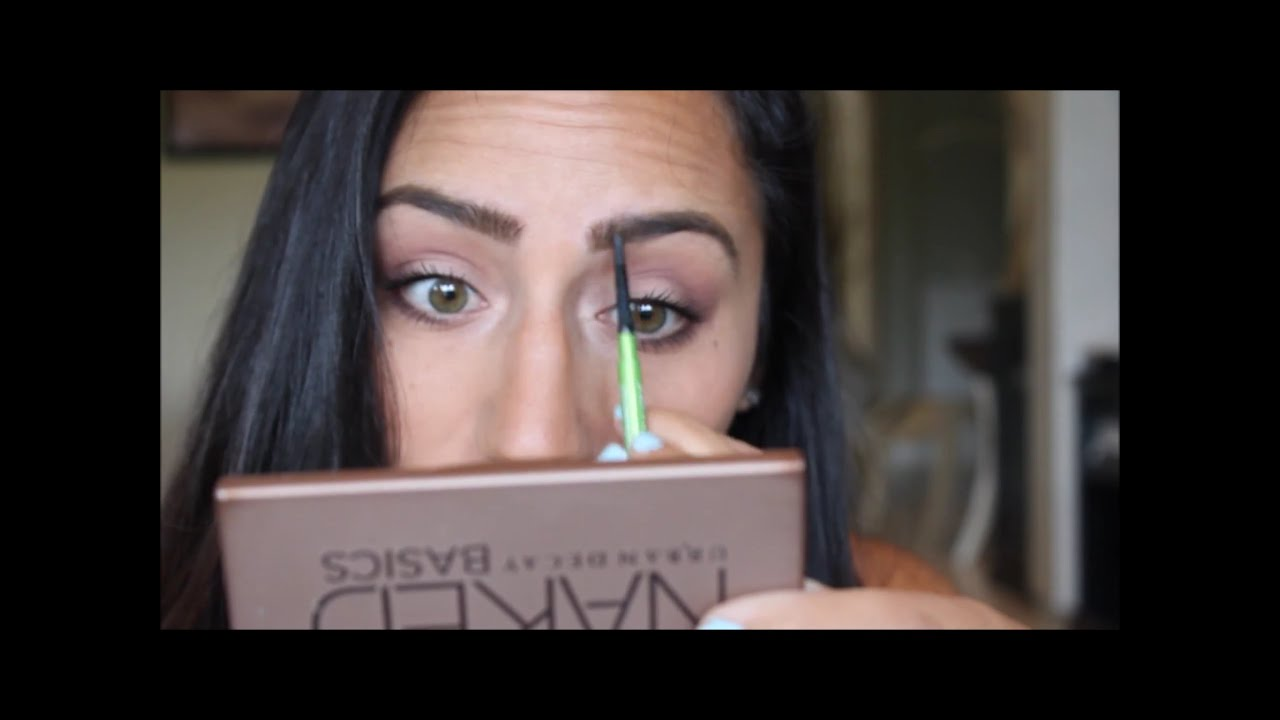 Easy Eyebrow Tutorial Maybelline Define A Brow Pencil Youtube